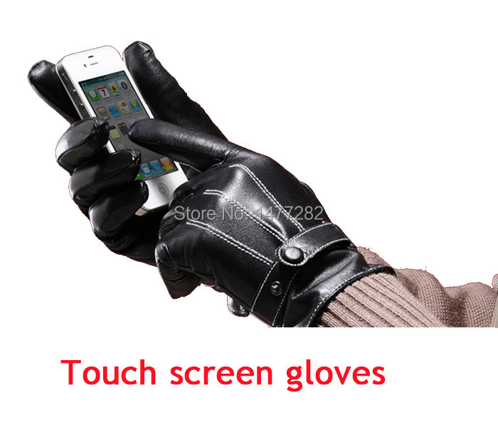 Fashion iglove touch screen leather gloves men winter glove warm gym driving car motorcycle Outdoor Sports 2015 - Easy Life House store