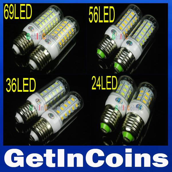Светодиодная лампа OEM SMD 5730 220 /110 E27 3W 9W 12W 20W 25W 30W 6LEDs 24 36LEDs 56LEDs 69LEDs 110LEDs,
