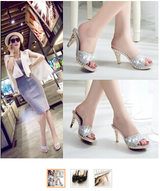 Women High heels shoes woman princess crystal open toe pumps female fashion spring & summer black party high slippers