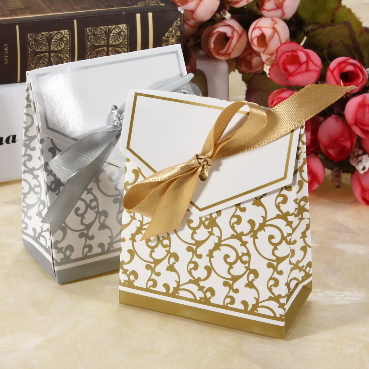 wedding cake bags and boxes efficient. Black Bedroom Furniture Sets. Home Design Ideas