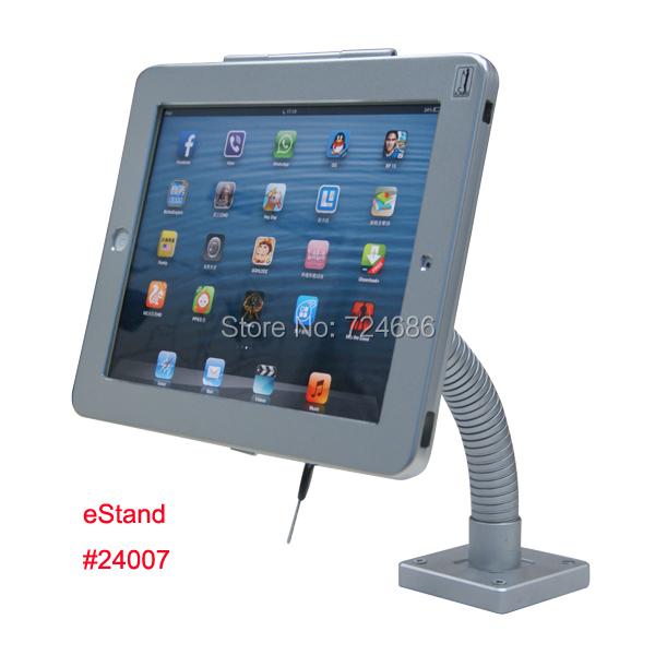 Для iPad 2/3/4 воздуха гусиная шея стол гусиная шея замок крепление дисплея на ресторан