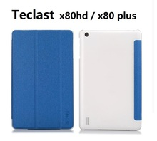 Original New Arrival 8.0″ Teclast X80HD X80 PLUS Flip Crystal Leather Case cristal cases cover for x80hd x80 plus tablet pc