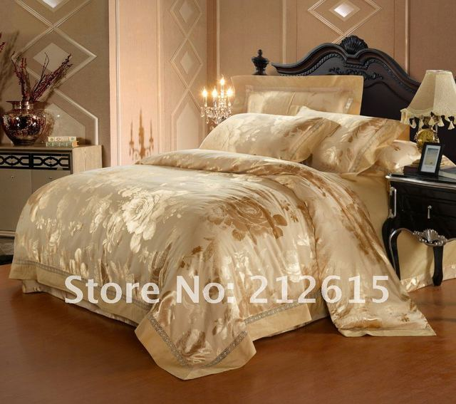 EMS/Fedex/DHL free shipping 2014 new desin luxury quilt cover, yellow duvet cover queen/king bedding sets