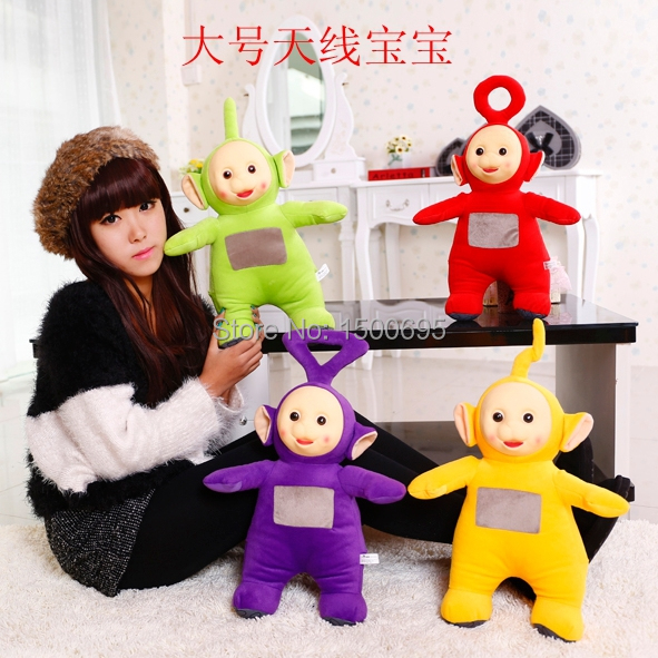 40cm High Quality cute Teletubbies standing doll doll plush toy doll childrens birthday present 4pcs/set free shipping<br><br>Aliexpress