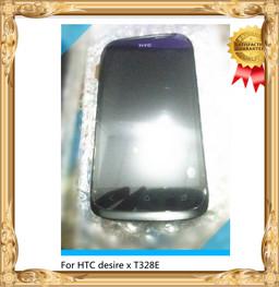 Черный~ для НТС Desire х T328e стекло ЖК-экран + Сенсорный дисплей digitizer Рамка монтажные инструменты