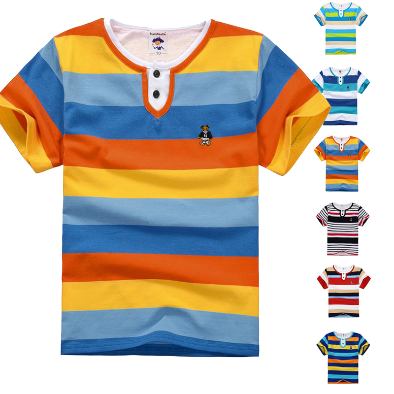 High Quality Breathable Children T Shirts Kids Boys Summer T-Shirt Designs Teen Clothing For Boys Baby Clothing Girls T-Shirts(China (Mainland))