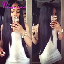 7A Peruvian Virgin Hair Straight 100% Virgin Unprocessed Peruvian Straight Human Hair Weave 3 Bundles Soft Peruvian Hair Bundles(China (Mainland))