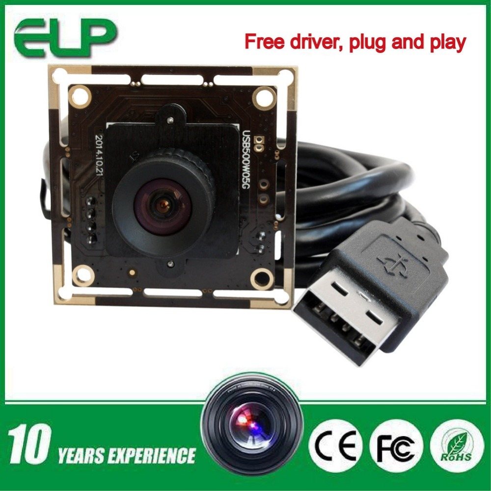 Фотография ELP 16mm lens 5MP 2592x1944 1/2.5inch Aptina MI5100 HD USB CCTV Camera high speed USB2.0 CMOS camera