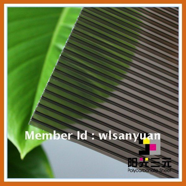 hollow polycarbonate sheet ; 100% Lexan raw material sun sheet ;pc sheet
