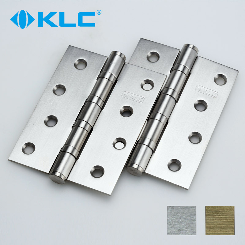 Germany KLC bearing stainless steel hinge door open folding hinge buffer 4 inch two(China (Mainland))