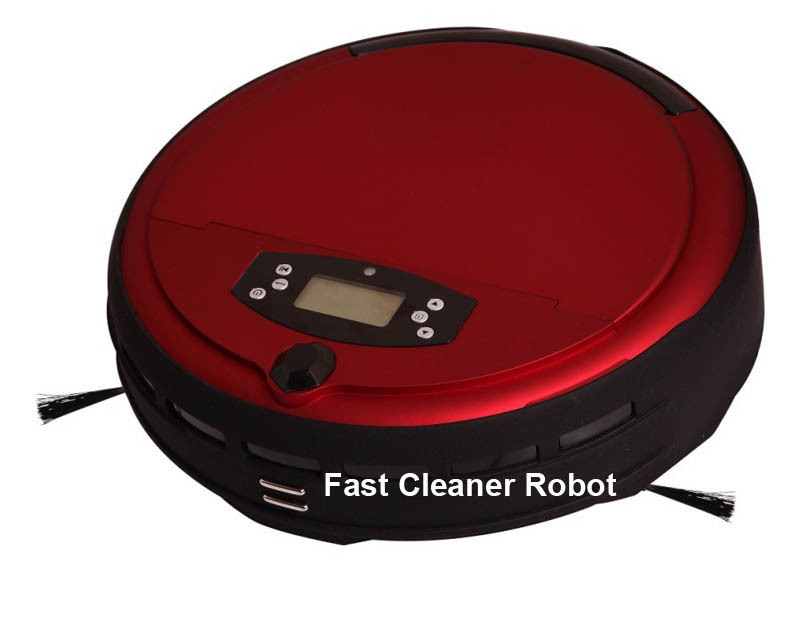 Wet And Dry Robot Vacuum Cleaner with 0.7L Dustbin Box,Voice Function,Auto Recharge,Schedule,Remote Control