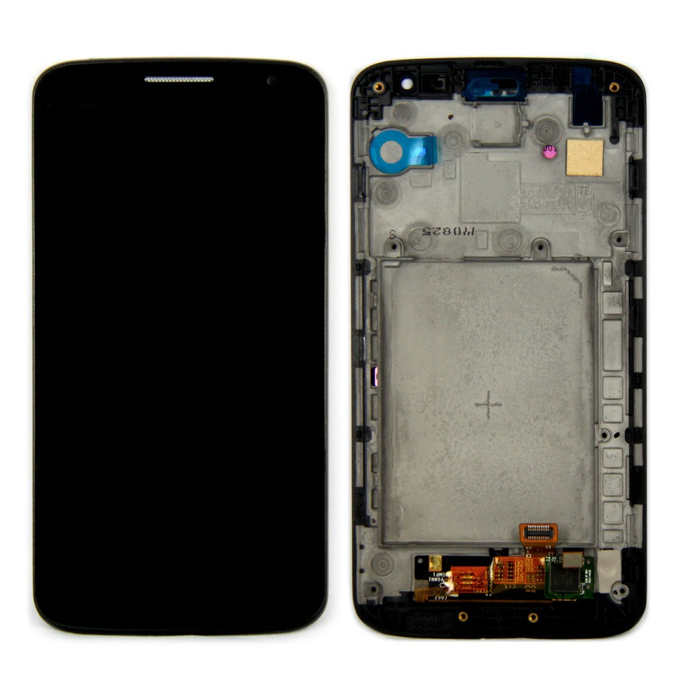 LCD Display +Touch Screen+Frame Assembly Digitizer Black Color For LG  Mini D620 D618 with free tools
