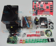 Solt game kits with the 7 in 1 PCB Coinhopper Coin acceptor Buttons harness. etc for casino slot game machine same as the photo(China (Mainland))