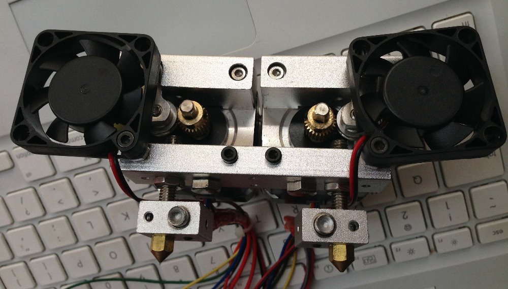 3d printer dual extruder print head nozzle not include for Print head stepper motor
