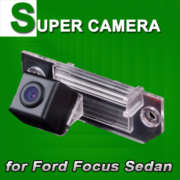 For Sony CCD Ford Focus Sedan Mondeo C-MAX Car rear view Camera back up reverse parking Wireless-optional kit for GPS(China (Mainland))