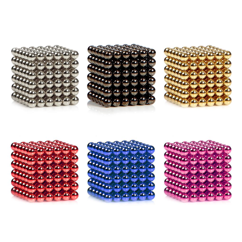 Brand New 3mm 216 6x6x6 Sphere magnetic Cube Magnet buckyball Ball Bead Puzzle Neocube DIY Education Toys(China (Mainland))