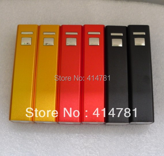 Free shipping DHL/EMS 100pc/lot power bank 2600 mAh 2 usb charger extermal battery pack for iphone ipod mobile phone LED button(China (Mainland))