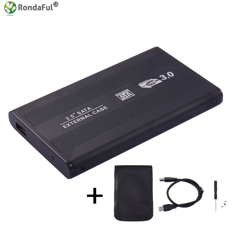 USB 3.0 HDD Hard Drive External Enclosure 2.5 inch SATA SSD Mobile Disk Box Cases laptop hard drive hdd caddy Windows/Mac os