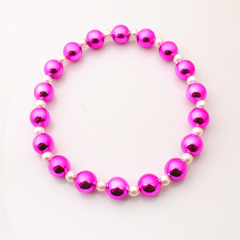 Innovative Items Candy Childrens Necklaces Bubblegum Pearl Gumball Beads Adjustable Rope Kids For Daughters Christmas Gift(China (Mainland))