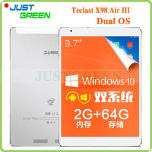 9.7″ 2048×1536 Teclast X98 Air III Dual Boot Tablet PC Win10&Android 5.0 Intel Z3735F Quad Core 2GB 64GB 5MP OTG HDMI 8000mAh