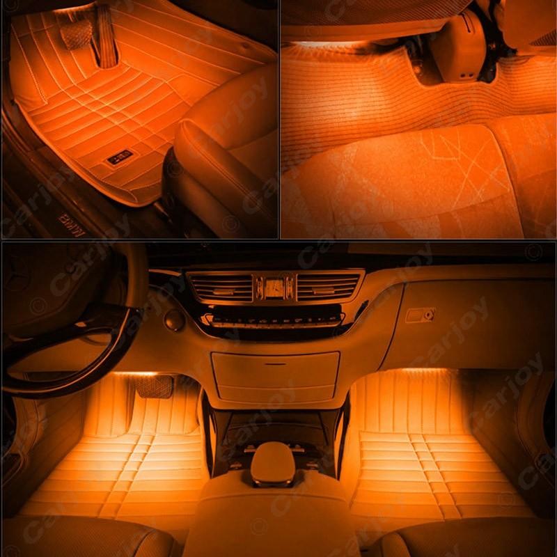 20sets car interior decorative rgb rgb led strip light atmosphere atmosphere lamp kit. Black Bedroom Furniture Sets. Home Design Ideas