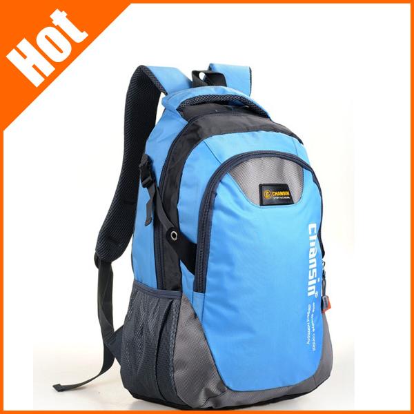 Chansin Korean color block lover men and women computer backpack bag Students school bag 50*30*15cm X50-094(China (Mainland))