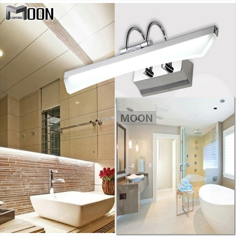 Здесь можно купить  New Arrival LED Bathroom Wall light fitting Contemporary Acrylic Mirror lamp 6 watt LED wall light for Dressing room lustres  Свет и освещение