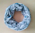 10pcs lot New Women Ladies Fashion Viscose Cotton Mini Horse Print infinity scarf Fashion Animal Scarves