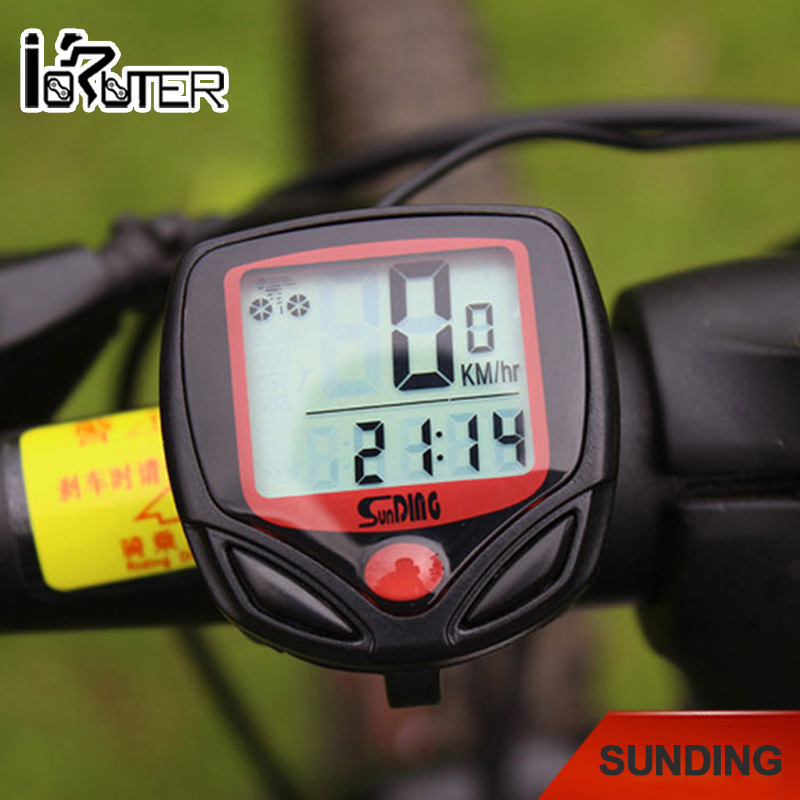 New Arrival Waterproof Digital LCD Bike Computer Cycle Bicycle Bike Speedometer Odometer(China (Mainland))