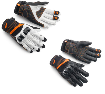 FREE SHIPPING KTM off-road motorcycle gloves bicycle ride gloves cowhide racing gloves Motorcycle riding glove(China (Mainland))