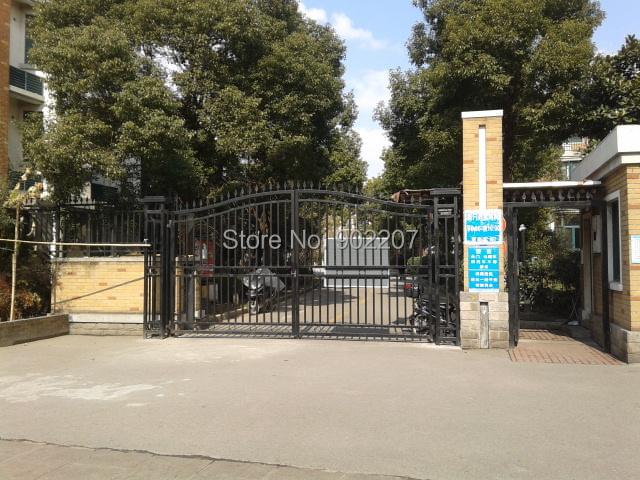 wrought iron gate for villa entrance <br>