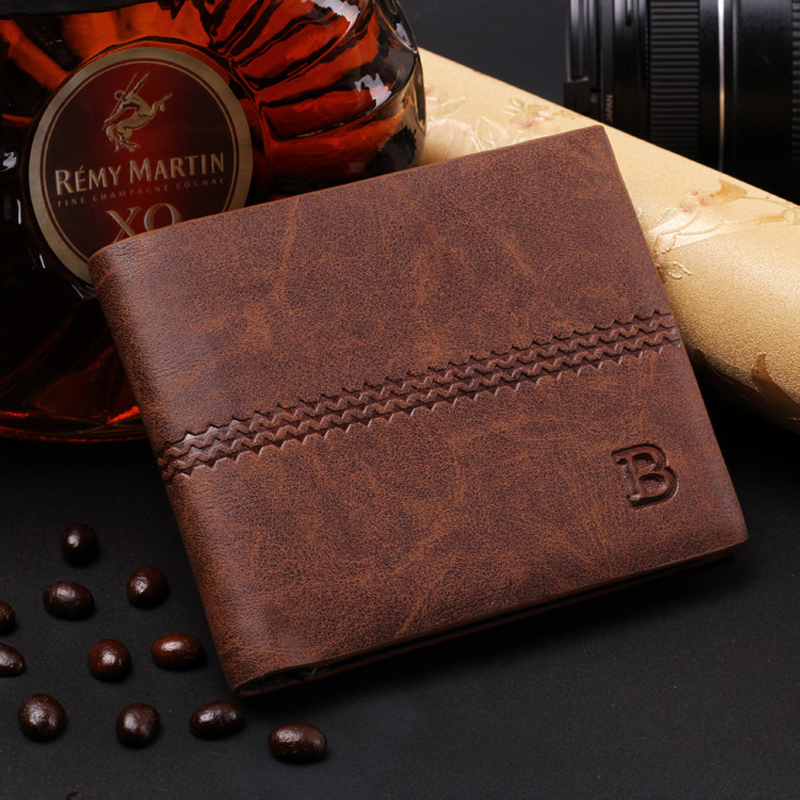 men wallets famous brand new 2016 mens wallet male money purses New classic soild pattern designer Soft ID Card Case(China (Mainland))