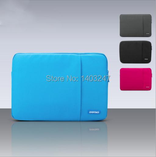 Pofoko 11.6/13.3/14 /15.6/17.3 inch Men Women Laptop Sleeve Bag Case for Macbook Air Pro Retina 11 12 13 14 15 17 Surface Pro 3(China (Mainland))