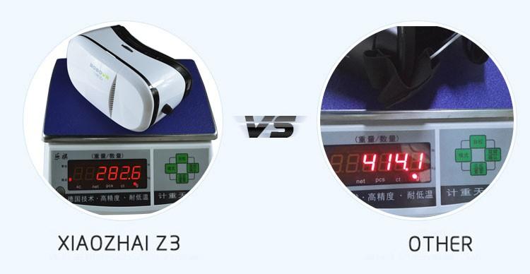 ถูก G oogleกระดาษแข็งVR BOBO VR Xiaozhai Z3 3D VRแว่นตาที่สมจริงหมวกกันน็อกความเป็นจริงเสมือนO Culus rift DK2สำหรับ4-6นิ้วมาร์ทโฟน