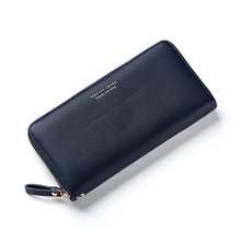 WEICHEN NEW Women Handbags Wristband Long Clutch Wallet Large Capacity Wallets Female Lady Purses Phone Pocket Card Holder Girl(China)