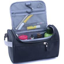 New Women and men Large Waterproof Makeup bag Nylon Travel Cosmetic Bag Organizer Case Necessaries Make Up Wash Toiletry Bag(China (Mainland))