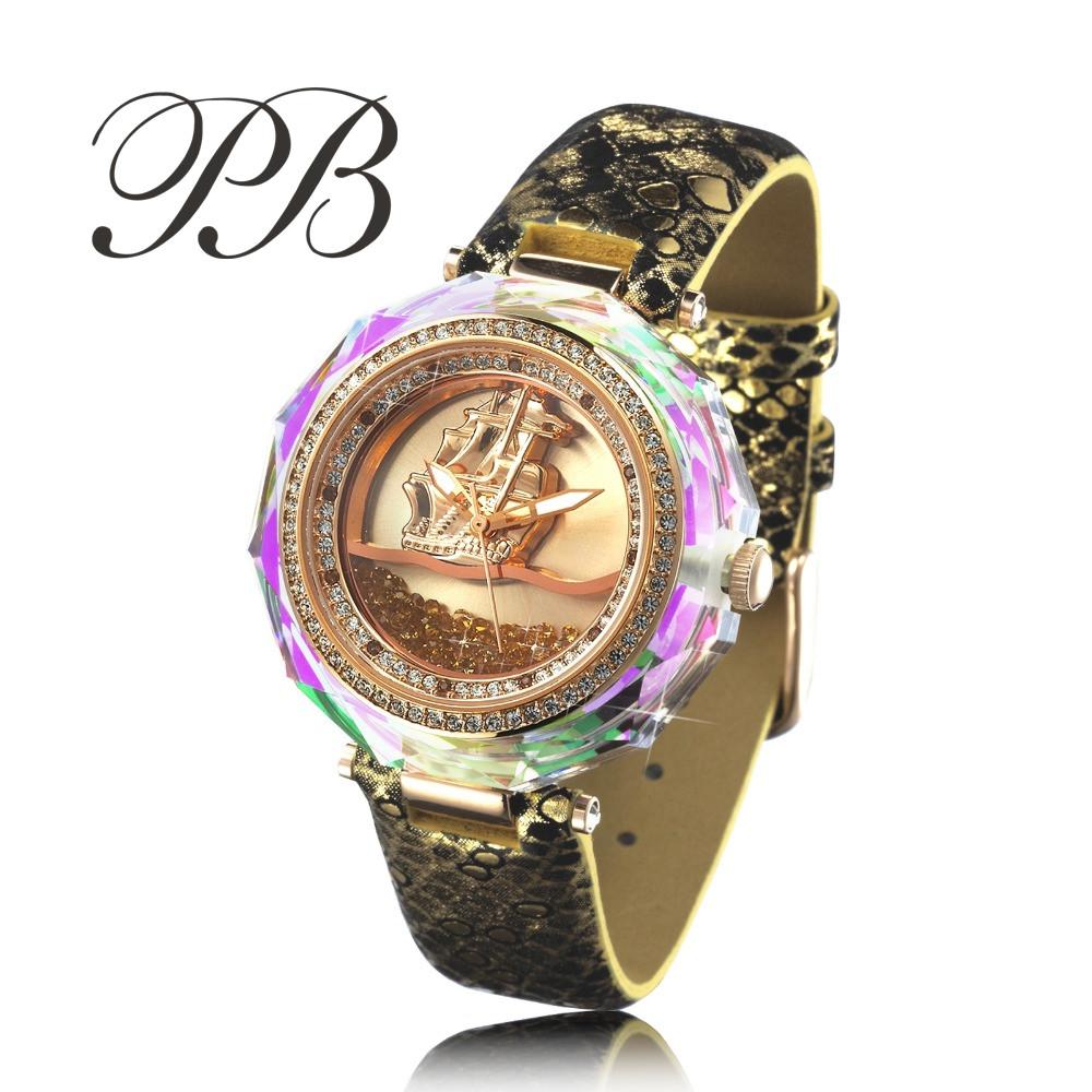 high quality large sea sailling luxury clocks wrist