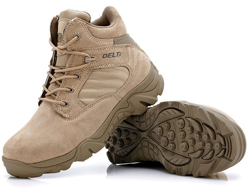 High-quality Autumn Winter Military Tactical Boots Round Toe Men Desert Combat Boots Outdoor Mens Leather Army Ankle Boots O314(China (Mainland))