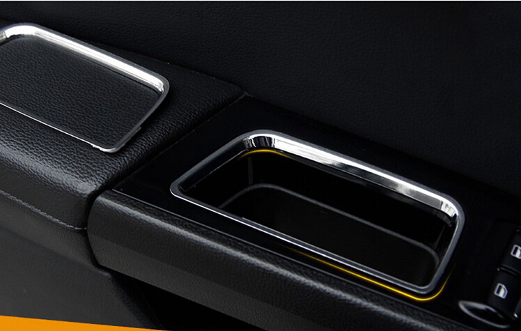 High Quality interior Side Door Storage Box Pocket covers Trim Cover For Ford Mondeo Mk V MK4/Fusion 2013 2014 2015<br><br>Aliexpress