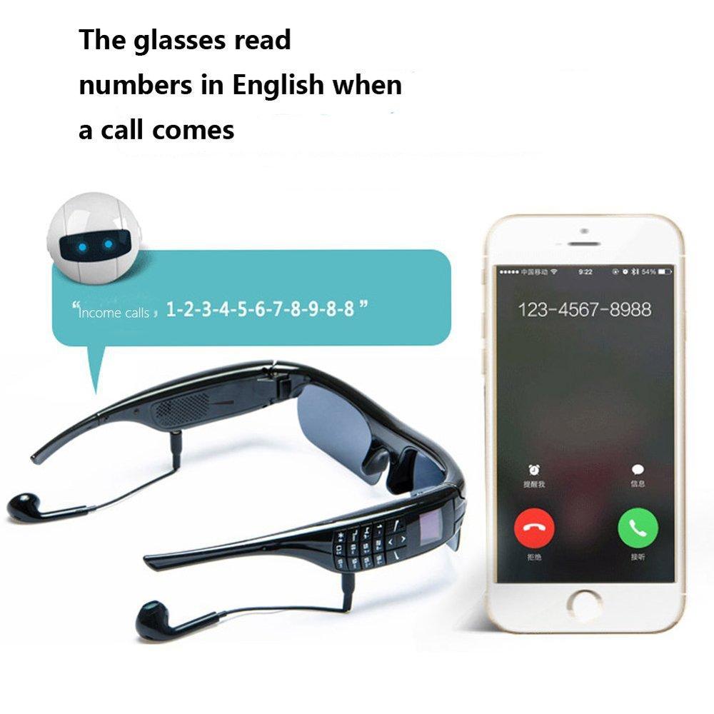 SiciLY Sport Stereo Wireless Bluetooth 4.0 Headset Telephone Driving Sunglasses/