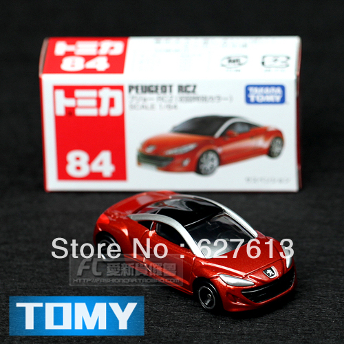Wholesale!FREE SHIPPING!(10pieces) 100% Brand New car's model/Dume card tomy 84 peugeot rcz roadster alloy car models toy