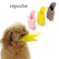 Wholesale 10pcs lot Silicone duck mouth design dog mask muzzle Great Bark bite stop anti bite