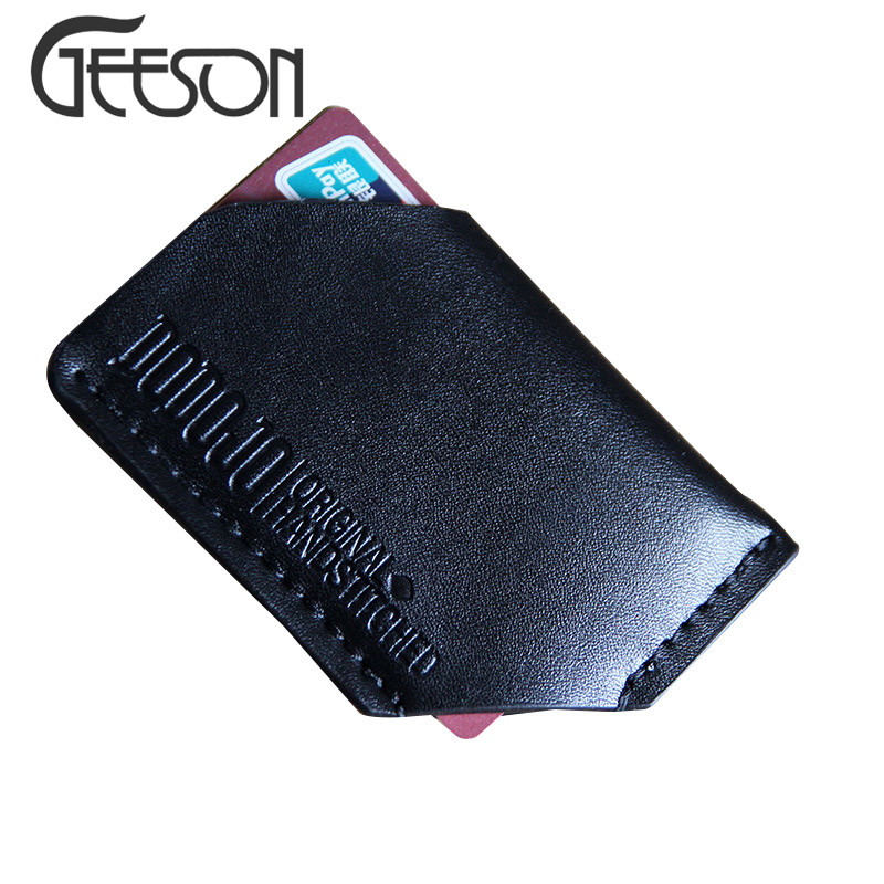 New Fashion Cute Mini Card Holder Bag Men Credit Cards Purse Cover Personality Irregular Man's Clutch Bags For ID Card KW367(China (Mainland))