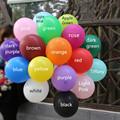 Black Balloons latex 10pcs 10 inch Wedding Decorations Ballons Decorations Happy Birthday Party Air Balls Helium