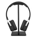 Durable Headphone Headset PC Monitor Stand Headphones Hanger Holder Bracket Black White