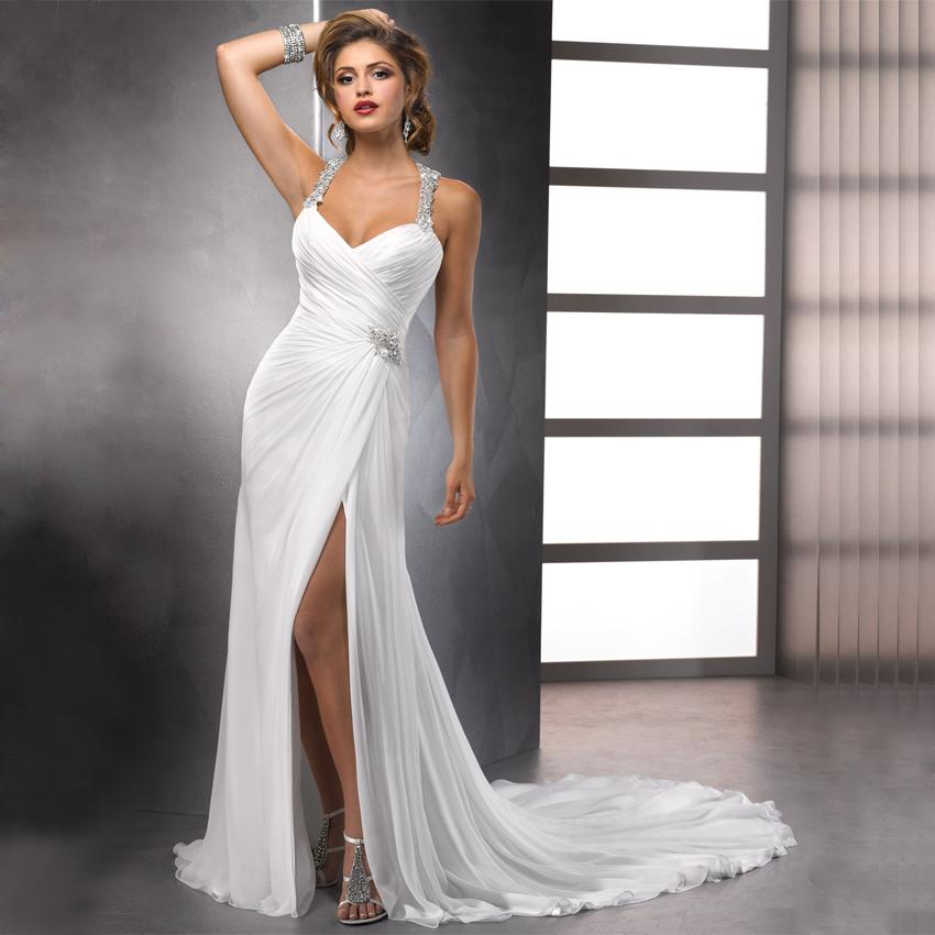 Halter Neck Wedding Dresses - Junoir Bridesmaid Dresses