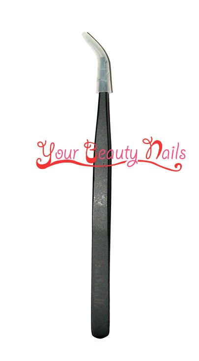 Free Shipping Eyelash Extension Tool Individual Lash Tweezers Eyelash Tweezers Curve Tweezer 12cm/piece