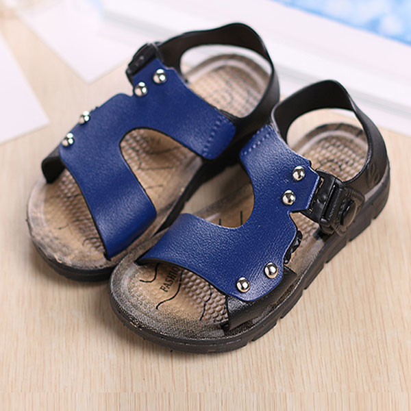 hot sale 2016 summer children shoes boys sandals fashion ...