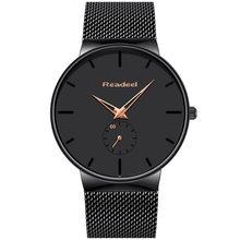 Relojes casuales de marca de moda para hombre, relojes deportivos de cuarzo para hombre, reloj de cuarzo ultrafino, resistente al agua, reloj para hombre(China)