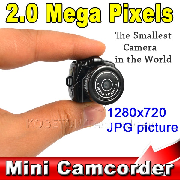 Micro Smallest Portable HD CMOS 2.0 Mega Pixel Pocket Video Audio Digital Camera Mini Camcorder 480P DV DVR Recorder 720P JPG(China (Mainland))